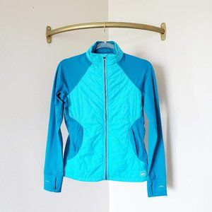 REI Lightweight Quilted Jacket Outdoors Teal Blue